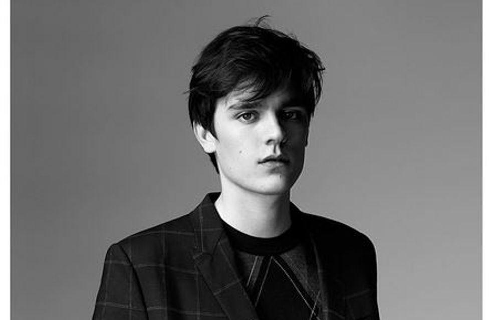Alain-Fabien, le fils d'Alain Delon, devient mannequin pour Dior (Photo)