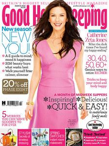 Catherine Zeta-Jones pour Good Housekeeping