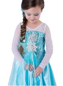 Costume di Carnevale di Elsa di Frozen