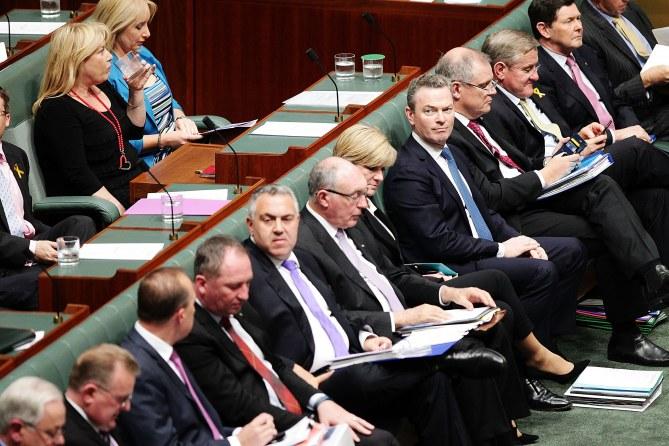 Des parlementaires australien