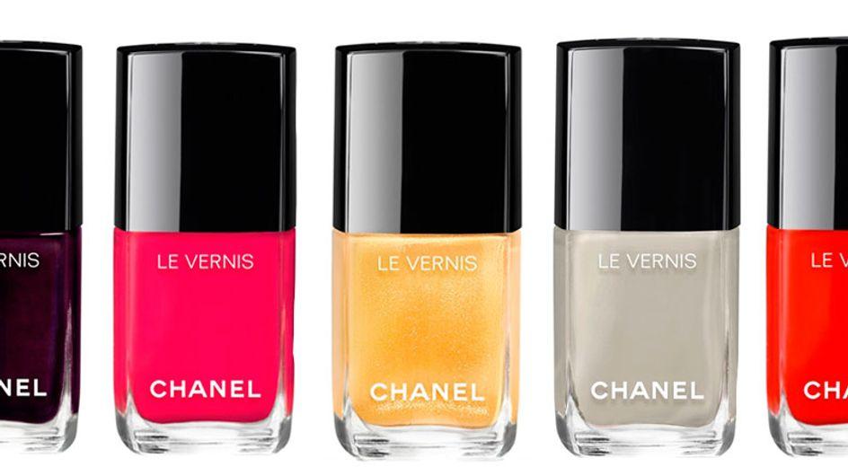 Esmaltes-desejo no pedaço! Chanel lança novas cores com fórmula renovada