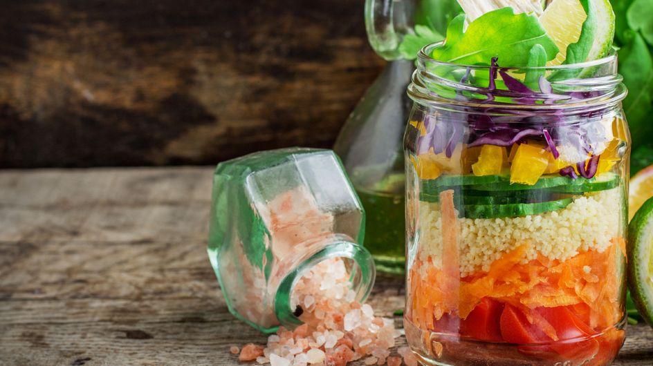 Receitas de saladas (no pote!) que valem mais que um prato principal
