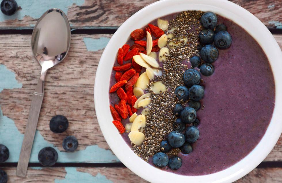 Afronta el día con ganas gracias a estas recetas de smoothie bowls