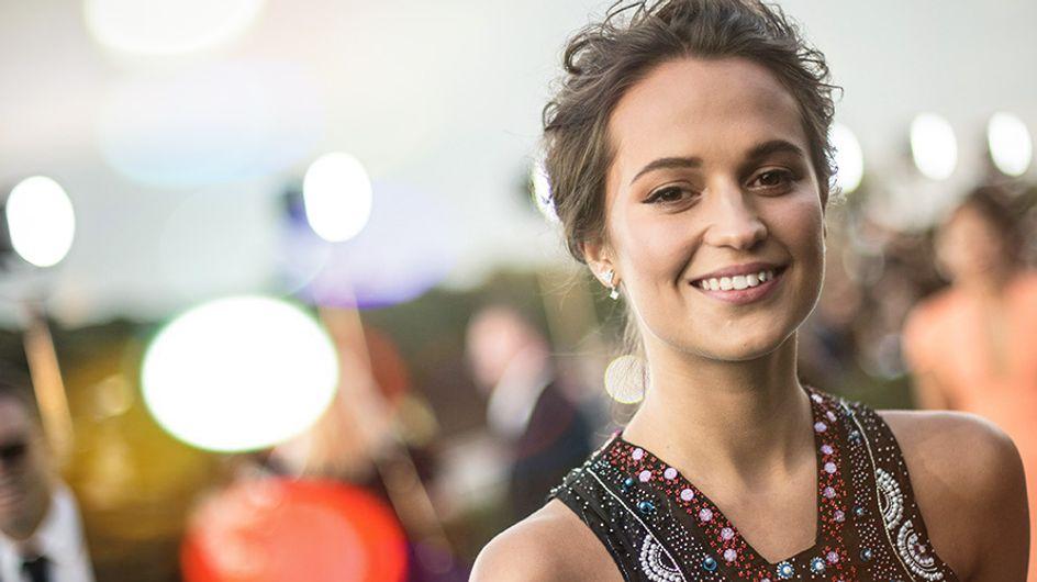 Roube o look de Alicia Vikander em 3 lições