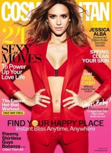 Jessica Alba pour cosmopolitan