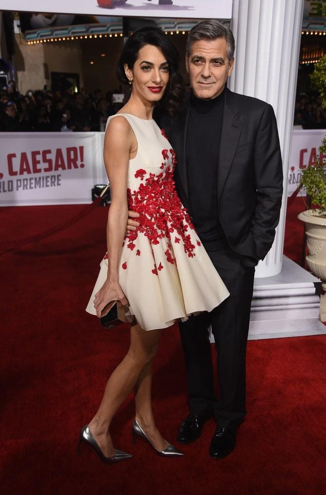 Amal Clooney et son mari