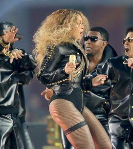 Beyoncé frôle la chute pendant le Super Bowl (Vidéo)
