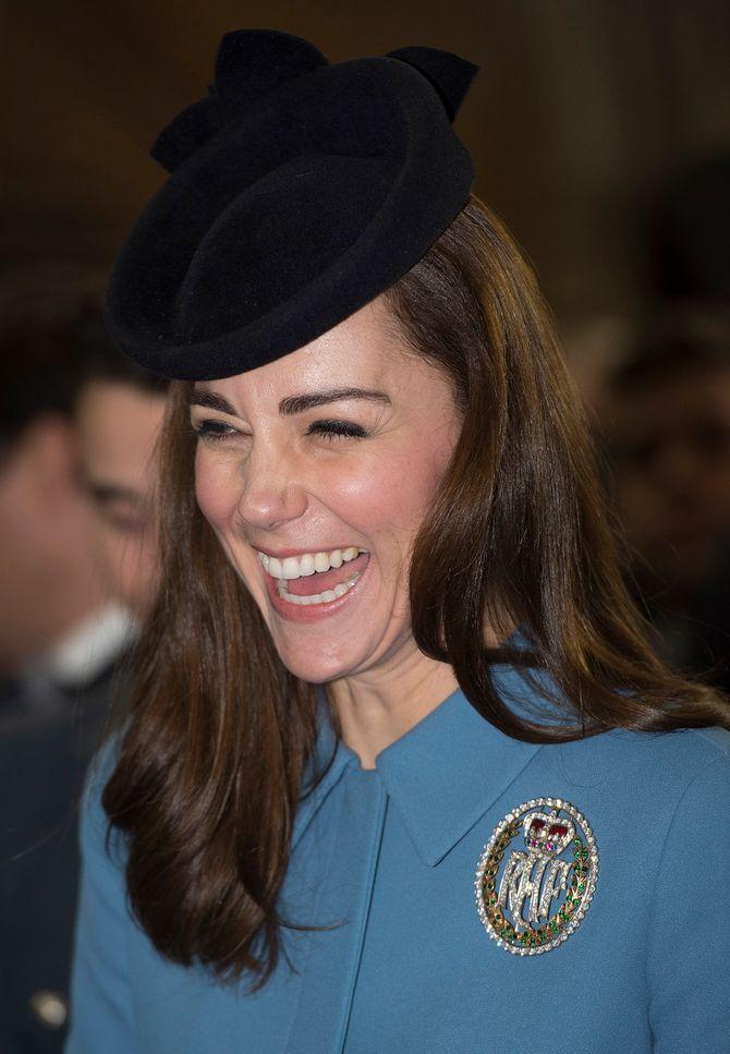 Kate Middleton aux 75 ans des cadets de l'Air de la RAF