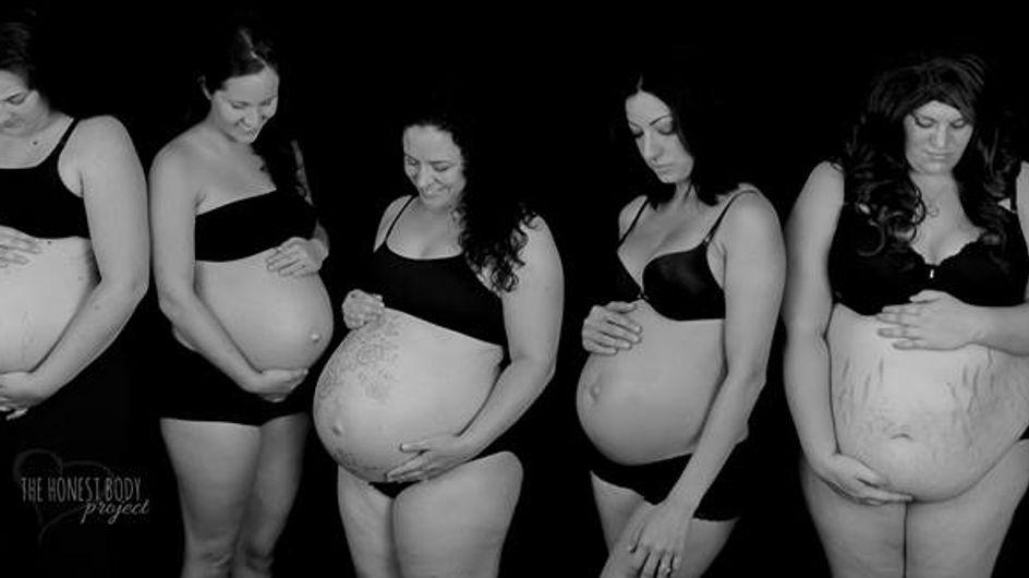 7 mujeres embarazadas muestran su cuerpo para el proyecto The Beauty in a Mother