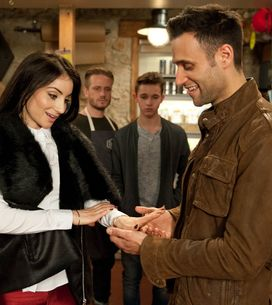 Emmerdale 18/2 - Rhona finds out Paddy has been having an affair