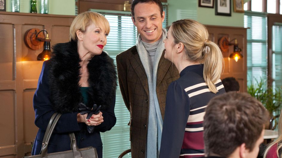 Hollyoaks 16/2 - Zack is red faced about his night of passion