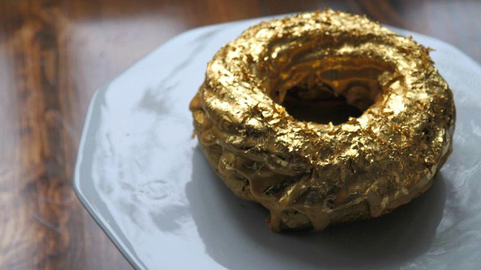 Donut de oro, la joya culinaria que triunfa