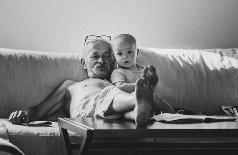 Estas fotografías te demostrarán que el amor entre abuelos y nietos es infinito