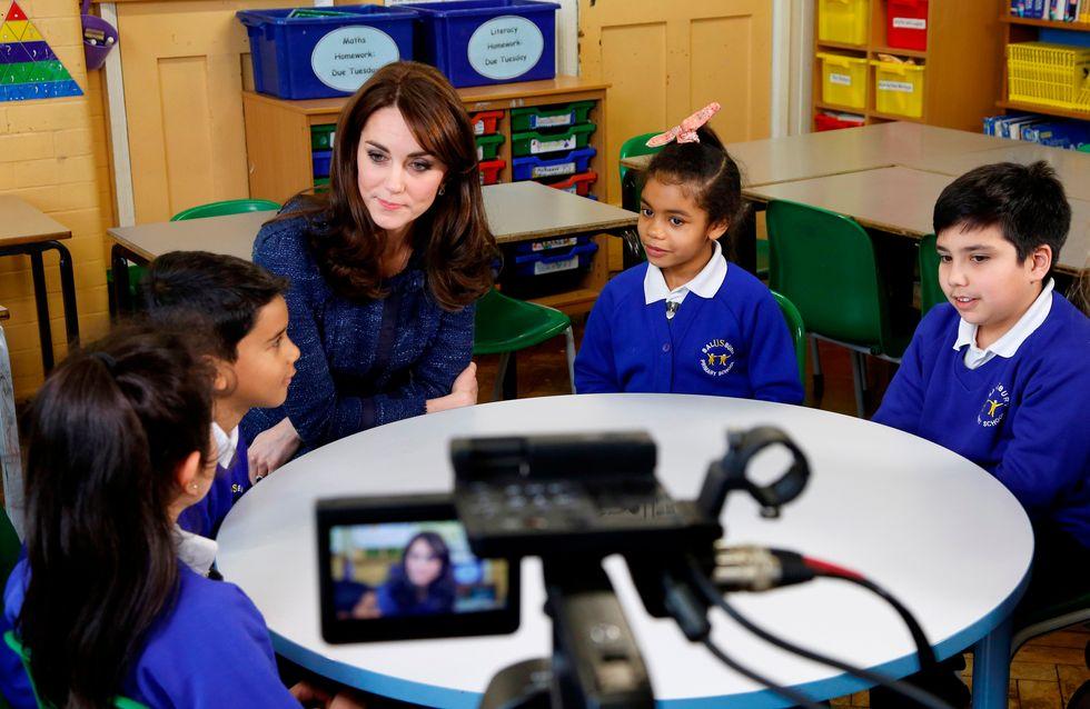 Kate Middleton s'engage pour la santé des enfants dans une rare vidéo