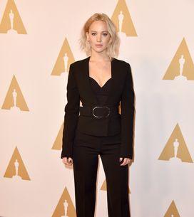 Jennifer Lawrence, sa leçon de style smoking sexy sur le tapis rouge