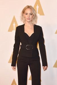 Jennifer Lawrence le 8 février 2016