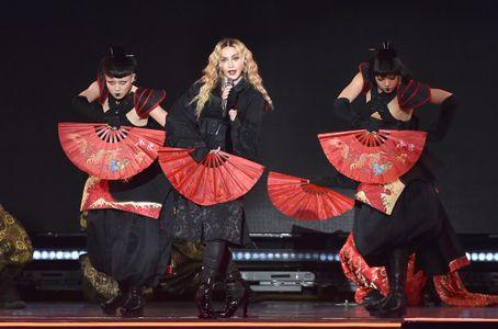Madonna nel suo Rebel Heart Tour