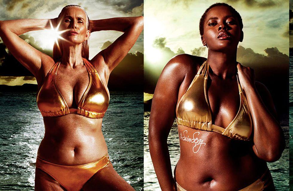 Un top de 56 ans et des formes, la diversité à l'honneur dans le prochain Sports Illustrated Swimsuit (Photos)