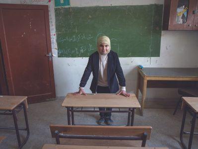 Fátima, 12 años, futura maestra