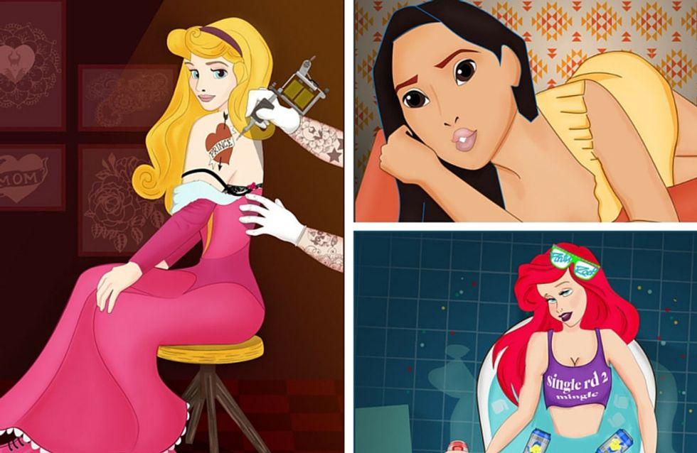 Que font les princesses Disney pour la Saint-Valentin ?