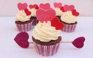 ¡Enamora con estos cupcakes de San Valentín!