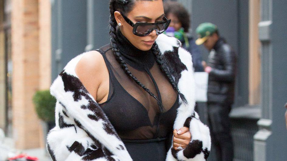 Kim Kardashian, nueva Cruella de Vil, peor look de la semana
