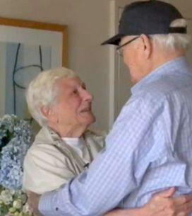 70 anni dopo, un veterano della seconda Guerra mondiale ritrova la donna della s