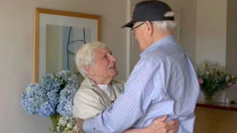 70 anni dopo, un veterano della seconda Guerra mondiale ritrova la donna della sua vita (video e foto)