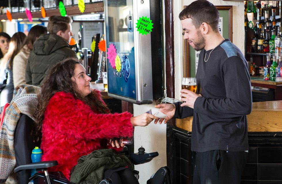 Coronation Street 24/2 - Tracy puts the screws on Carla