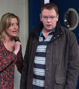 Eastenders 26/2 - Nancy is upset