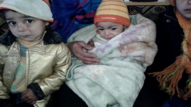 Des enfants à Madaya
