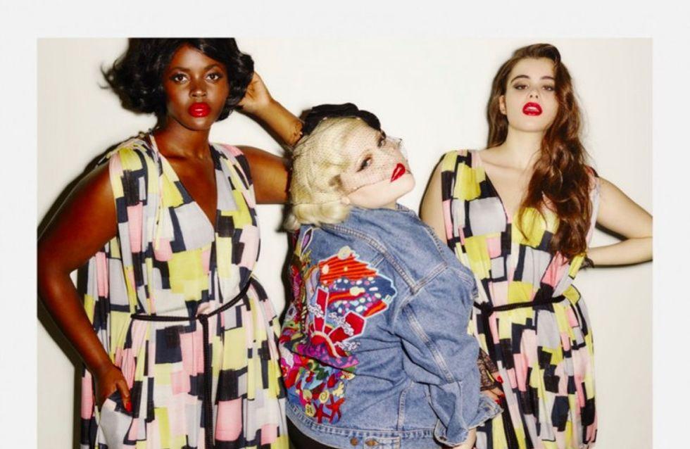 Beth Ditto dévoile sa collection de vêtements grande taille, et on adore (Photos)