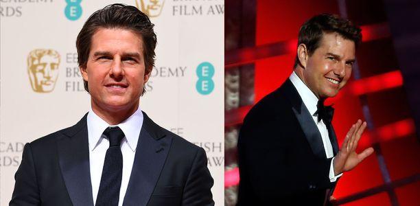 Tom Cruise antes y después