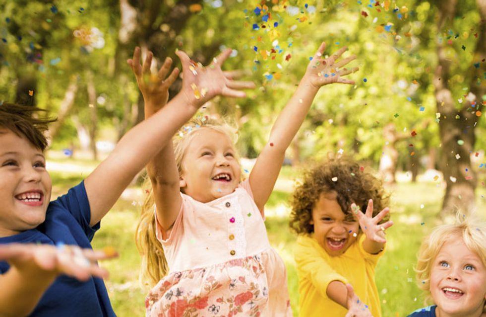 Damit es ein unvergesslicher Kindergeburtstag wird: Tolle Spiele für drinnen & draußen