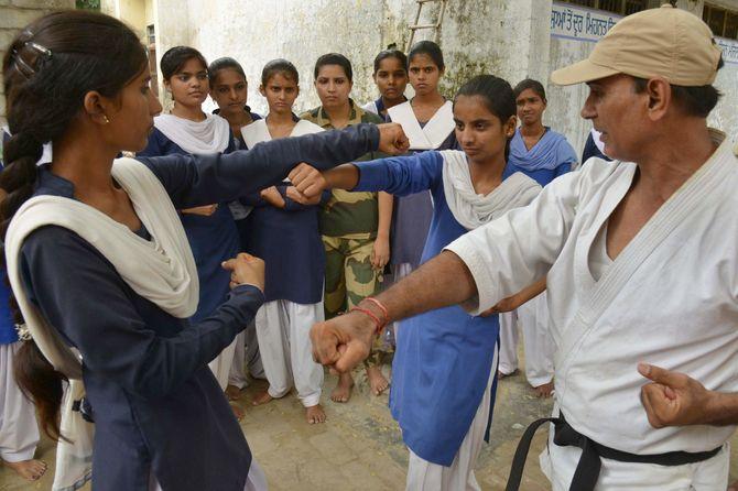 Un cours de self-defense
