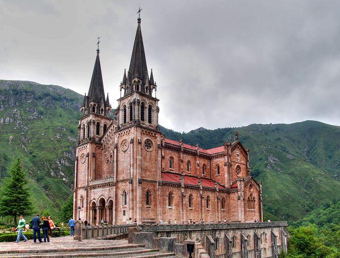 Basílica Santa María la Real de Covadonga (Asturias)