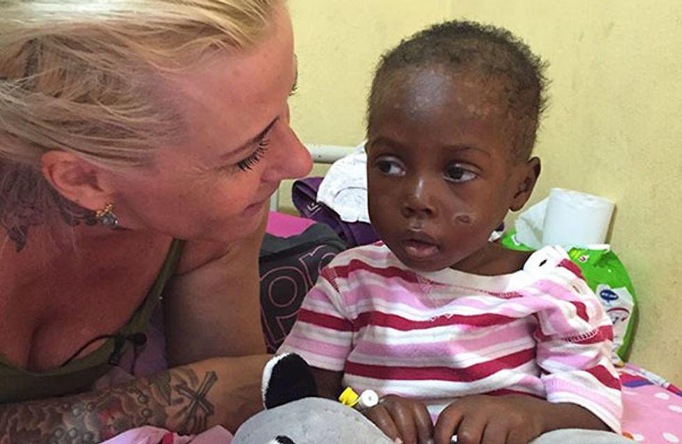 Accusé de sorcellerie et abandonné, ce bébé nigérian a frôlé la mort (Photos)