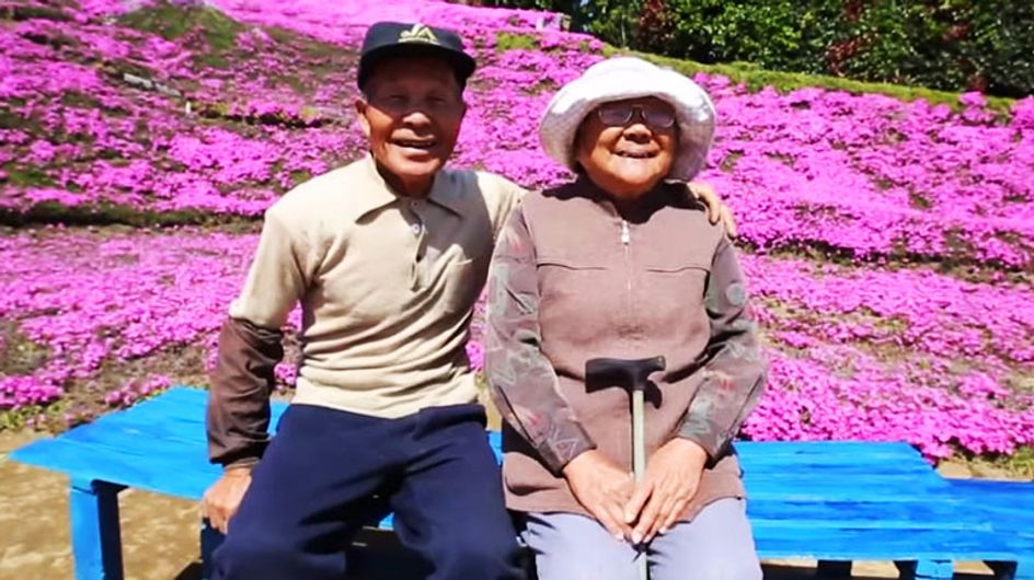 This Husband Spent Two Years Planting Thousands Of Flowers For His Blind Wife To Smell