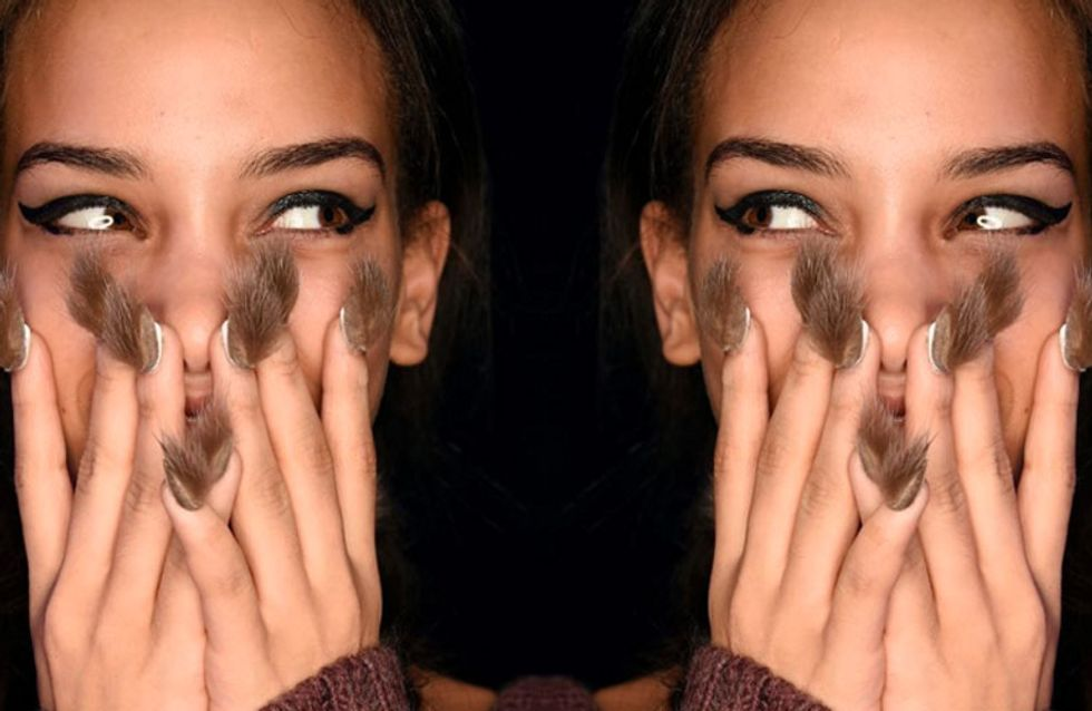 Would You Rock Hairy Nails? Check Out The Latest INSANE Nail Trend