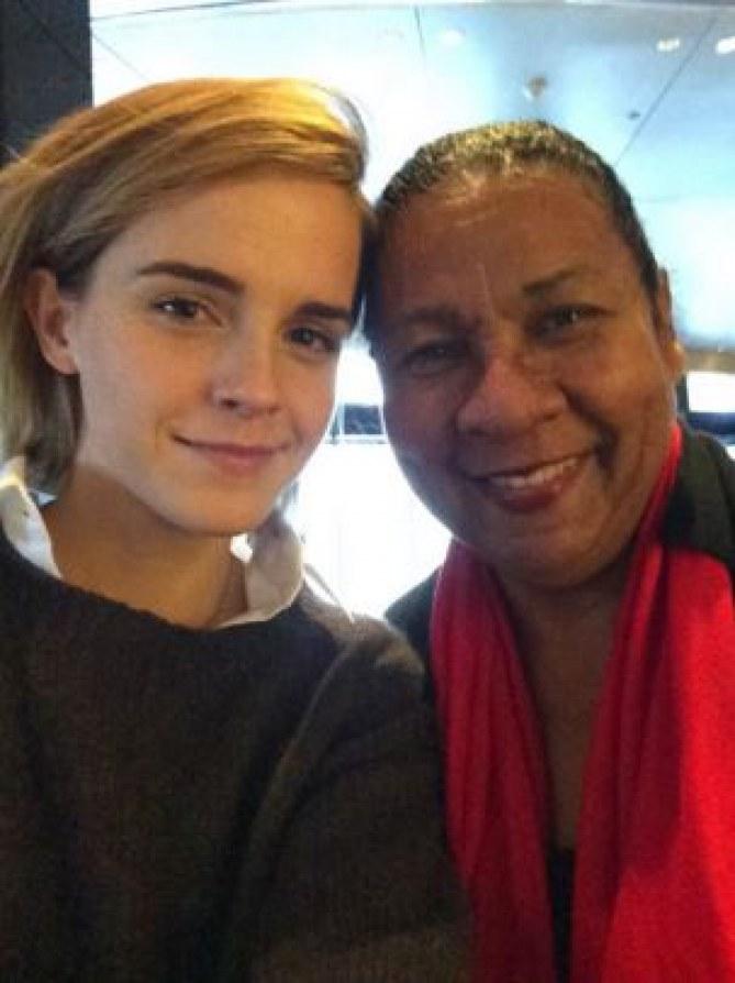 Emma Watson et Bell Hook