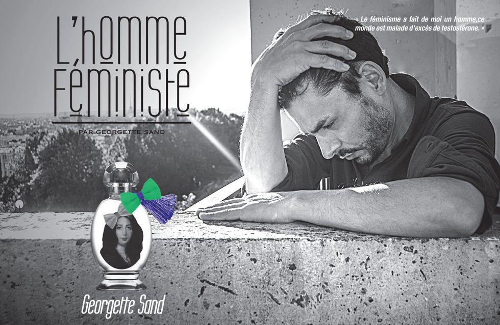 Le collectif féministe Georgette Sand donne la parole aux hommes dans sa dernière campagne (Photos)