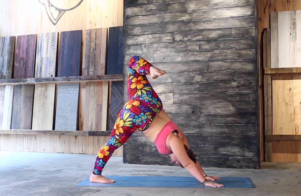 Las increíbles posturas de esta yogui XL te dejarán boquiabierta