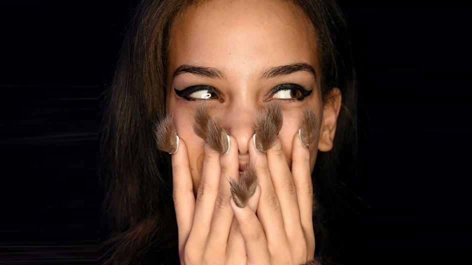Uñas peludas, la tendencia más desagradable