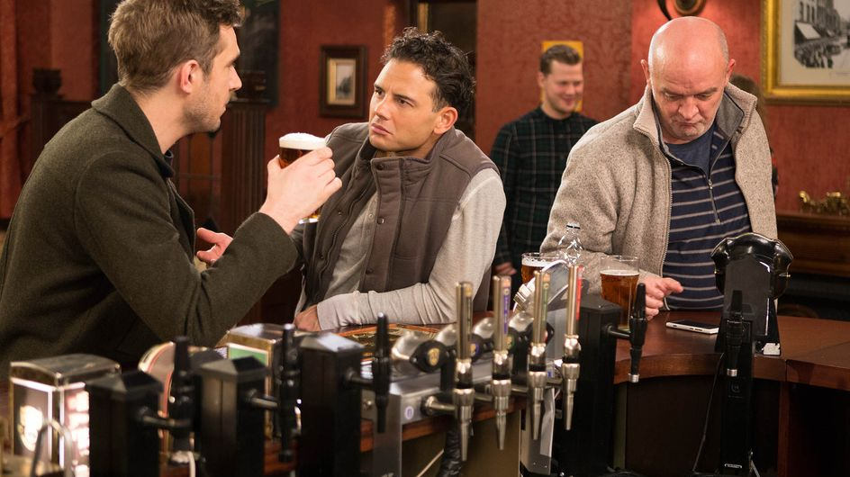 Coronation Street 2/3 - Will Aidan and Eva be caught red handed?