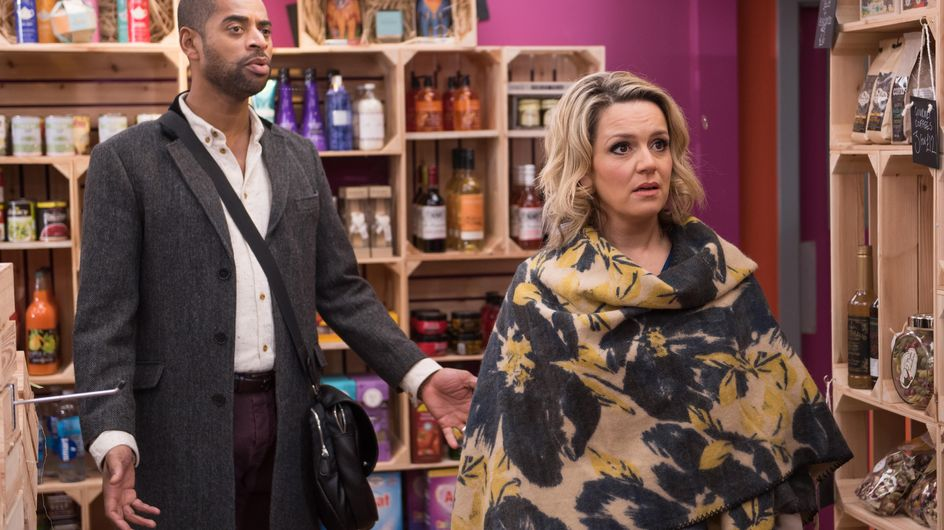 Hollyoaks 3/3 - Grace is reluctant to be sympathetic to Trevor