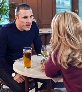 Hollyoaks 4/3 - Lisa begs Joanne to help keep her secret.