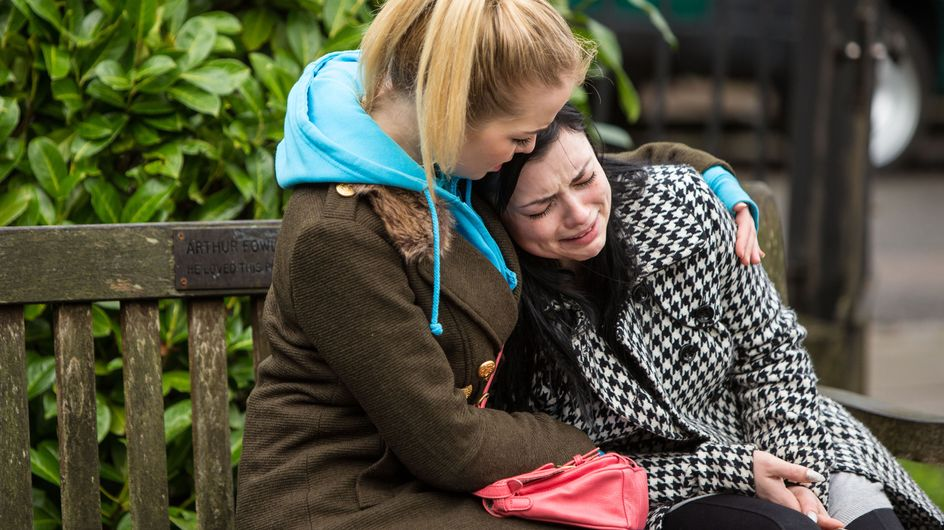 Eastenders 29/2 - ​Whitney is devastated when Nancy arrives at Sonia's with her belongings
