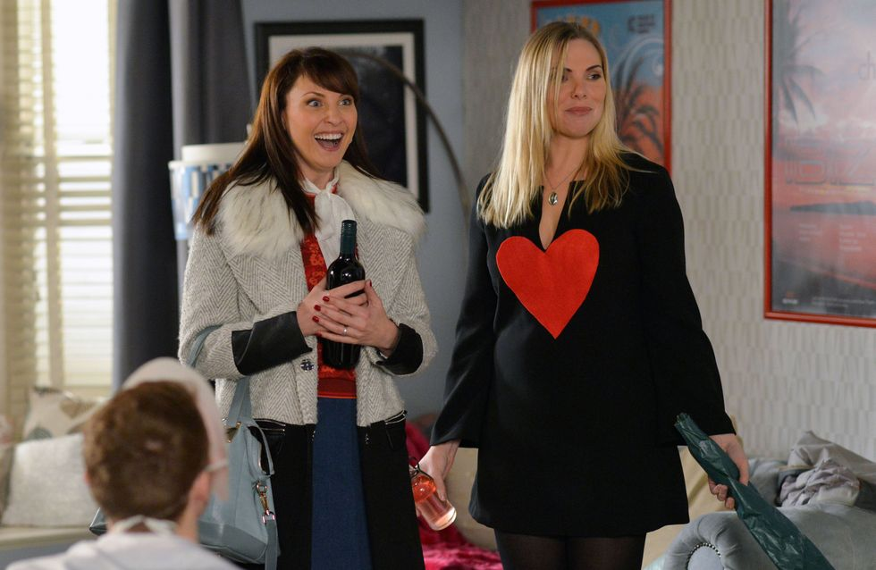 Eastenders 1/03 - Ronnie decides to throw a surprise themed party