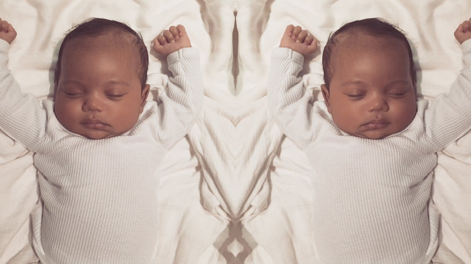 Kim Kardashian Has FINALLY Released A Picture Of Baby Saint