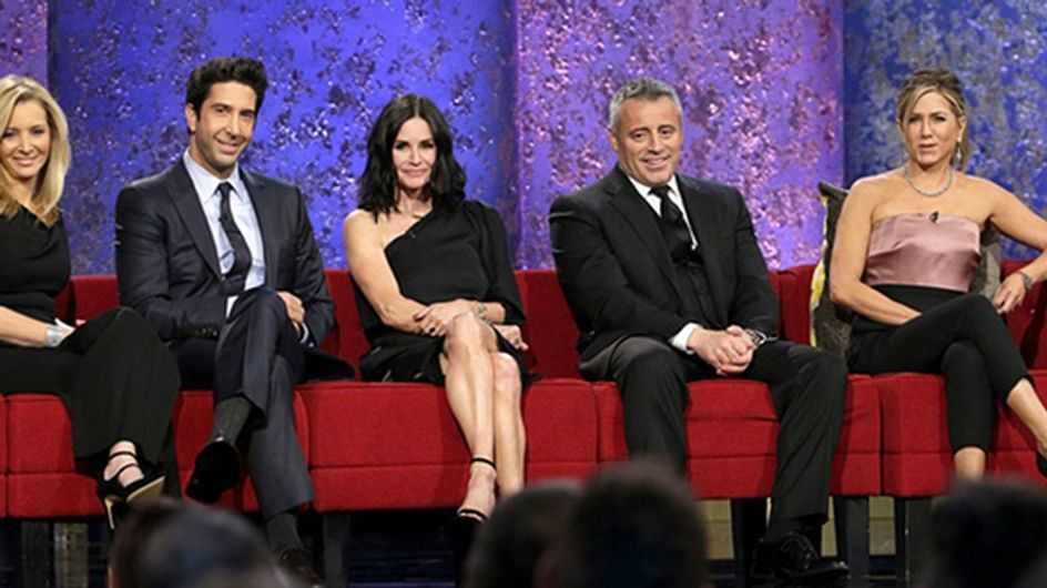 The Cast Of Friends Totally Broke The 'No Sex' Clause In Their Contracts